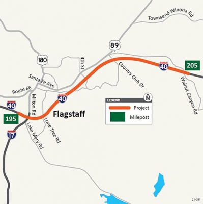 ADOT I-40 Flagstaff