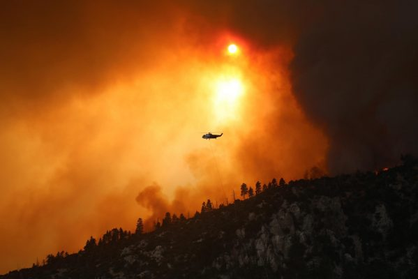 Bobcat Fire.  Photo courtesy of the Angeles National Forest.
