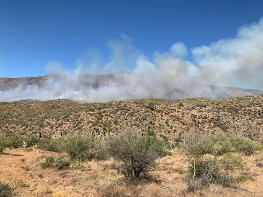 pic from Daisy Mountain Fire and Medical