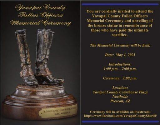 Fallen Officer Memorial Ceremony Invitation (1)
