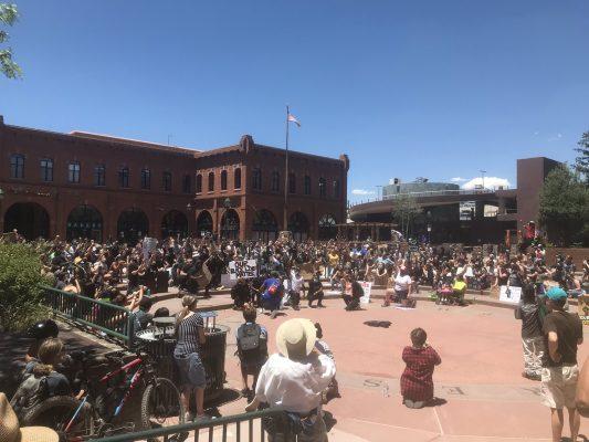 Heritage Square Protest