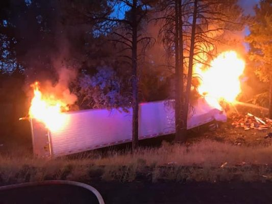 pic courtesy of Flagstaff Fire.