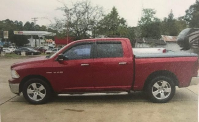 The truck pictured is similar to the one involved in the accident.