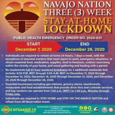 Navajo Lockdown
