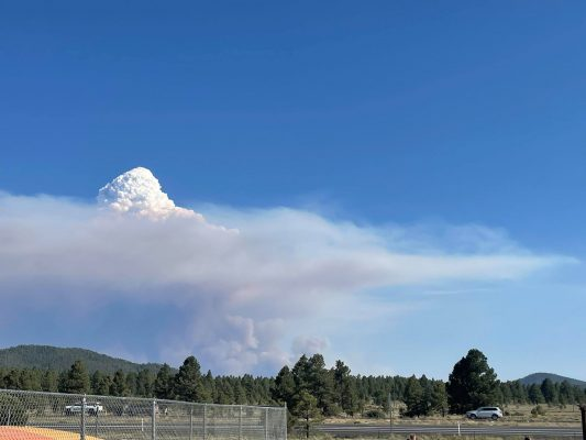 Thanks to KAFF News Tipster Brock Everly for the picture looking south from the Flagstaff area.