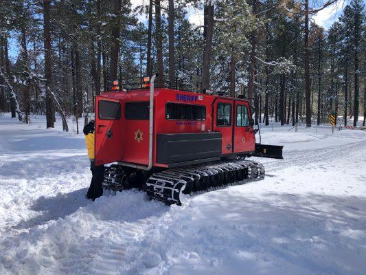 Snow Cat 300 road