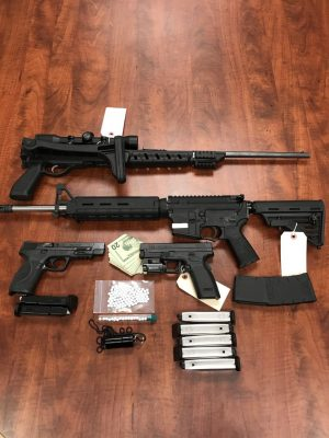 fentanyl dealer with weapons cache