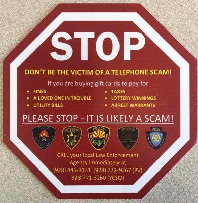 gift card warning